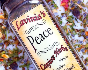 Peace Herb Blend for Spells - Candle Dressing -  Mojo bag - Bath - Sweep -Hoodoo - Spiritual - Witchcraft - Wicca - Pagan -Folk Magic
