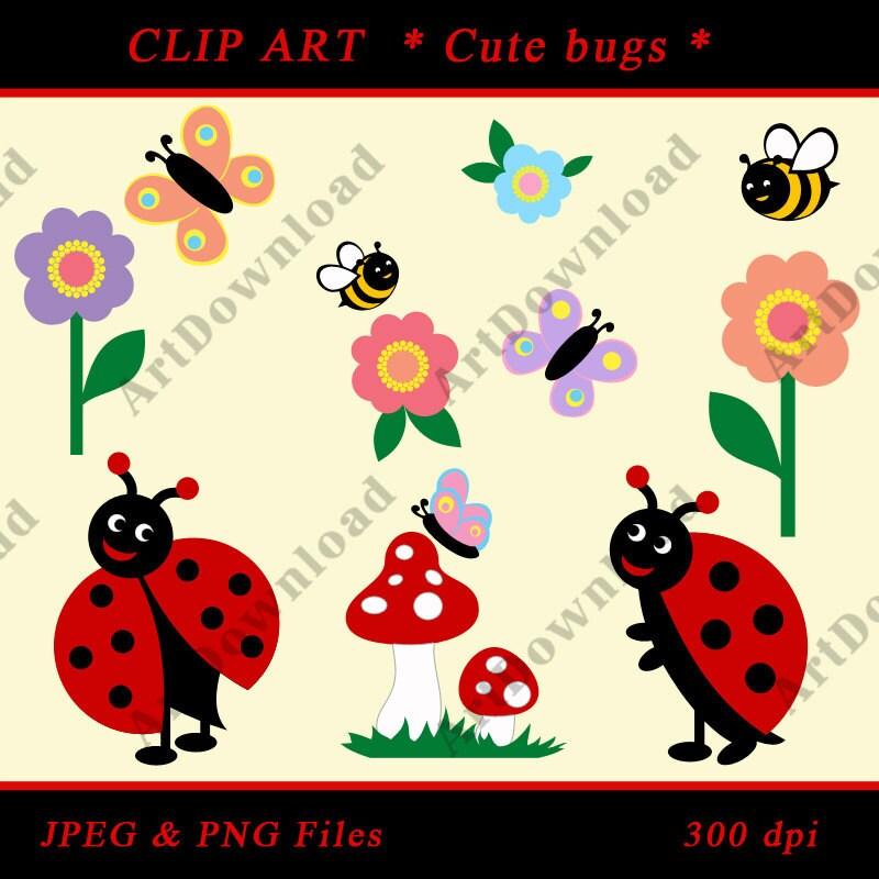 June Bug Clip Art Cute Bugs Clip Art