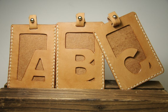 Motto - A - Z Letter card holder