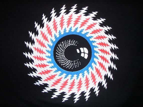 Grateful Dead lightning bolt eye tour lot shirt - Jerry, Phil, Furthur, Ratdog, Dark Star, 13 point bolt
