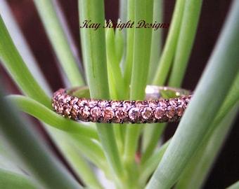 Cognac Diamond Ring by Kay Knight Designs