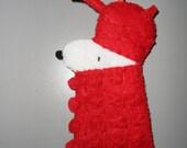 RESERVED for April Dr Who Snoopy Dalek Mash Up Felt Ornament