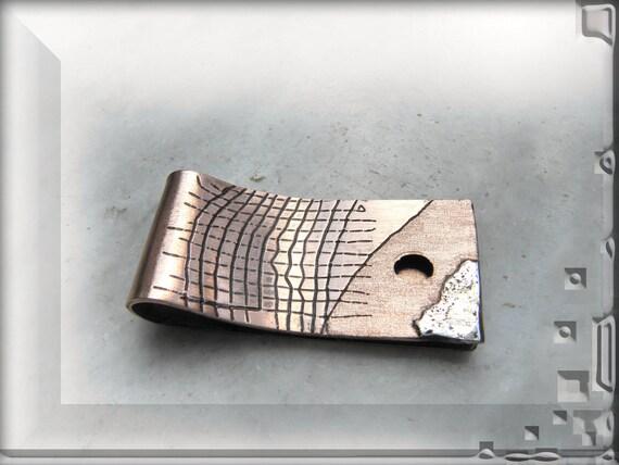 money clip copper mens jewelry unique designer artistic