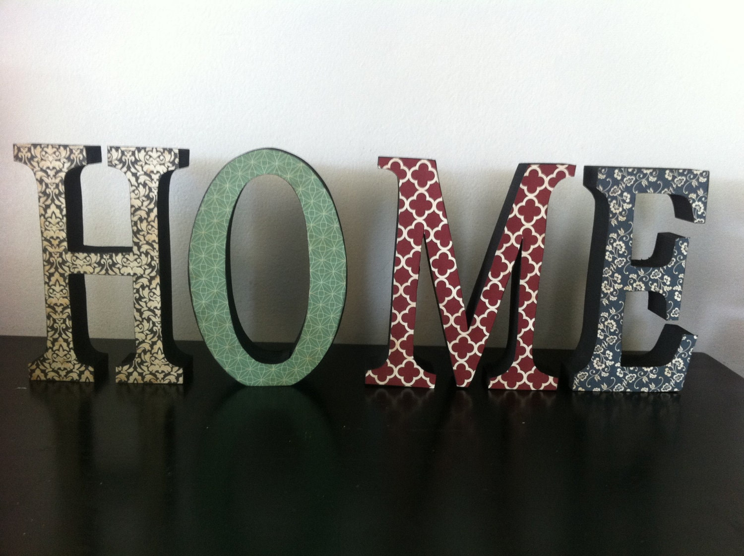 Home Modern Wood Letters Home Decor Custom And Personalized