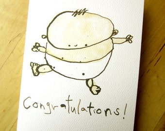 Congratulations - Greeting Card - new baby