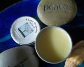 Yuzu and Lemon Citrus Organic Natural Beeswax hemp oil and honey comb Lip Balm