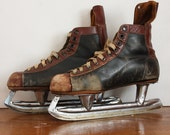Vintage Men's Ice Hockey Skates - Made In Canada