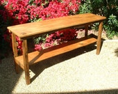 The Sedona Console Table - Handmade with Reclaimed Wood by Arcadian Cottage