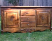 The Duchess Sideboard Cabinet Buffet - Handmade with Reclaimed Wood by Arcadian Cottage