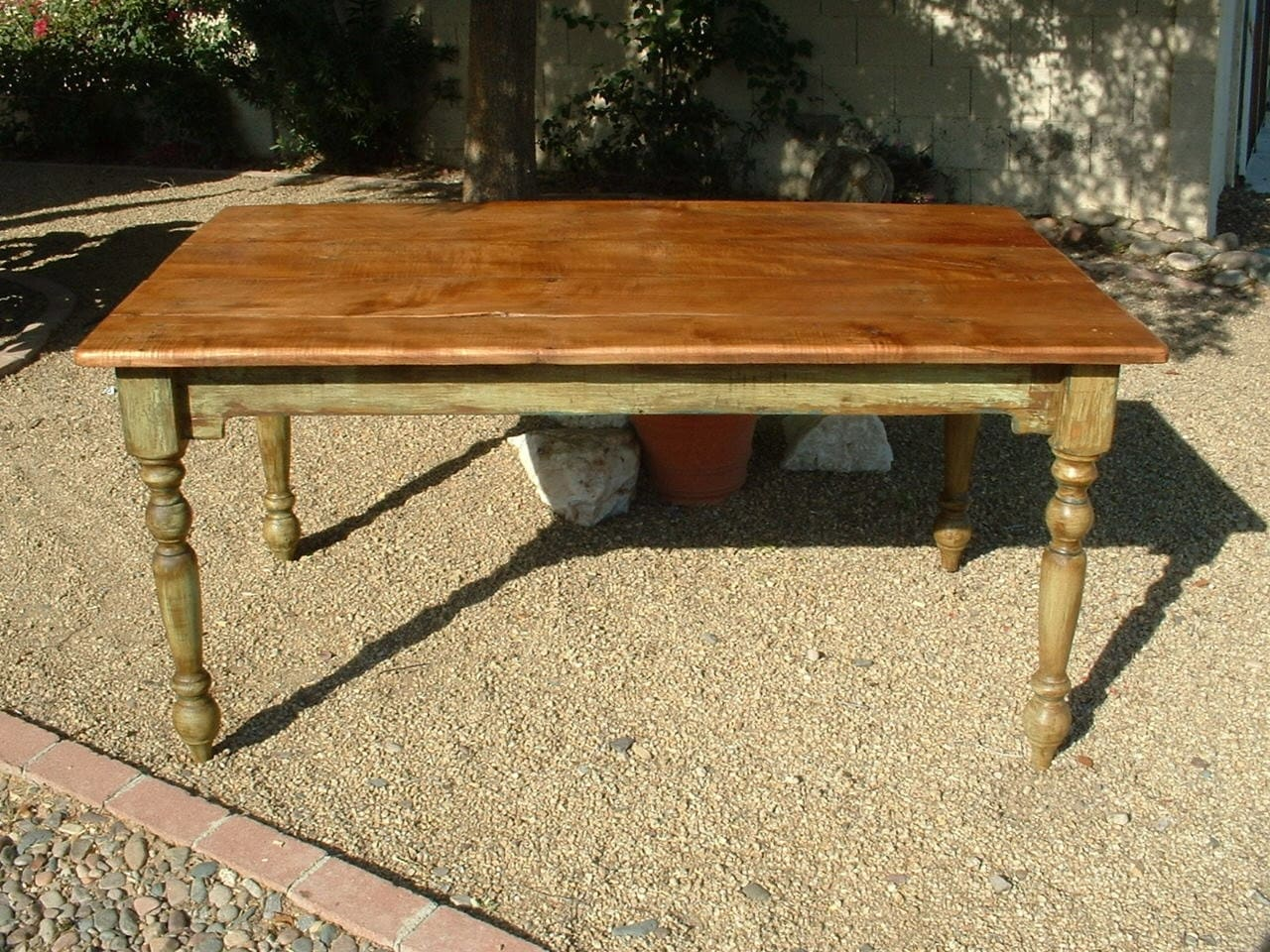 Harvest Plantation Farm Table Handmade With Reclaimed Wood