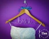"Wedding Dress Hanger ""BRIDE"" - ready to ship :)"