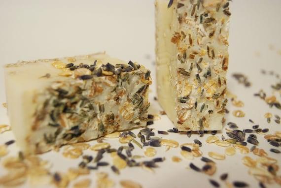 2 oz Lavender Oatmeal Cold Process Soap
