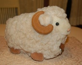 SALE Vintage Wooly Sheep for Home Decor or Toy