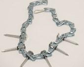 Nail Sash Necklace