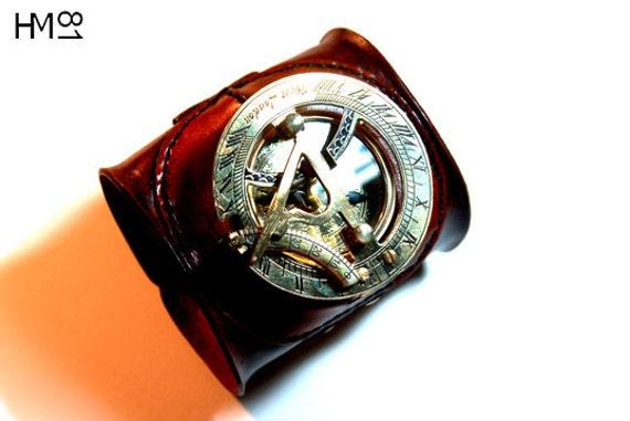 Steampunk Sundial Watch