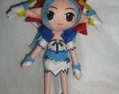 RESERVED fo Cassiopio - felt doll