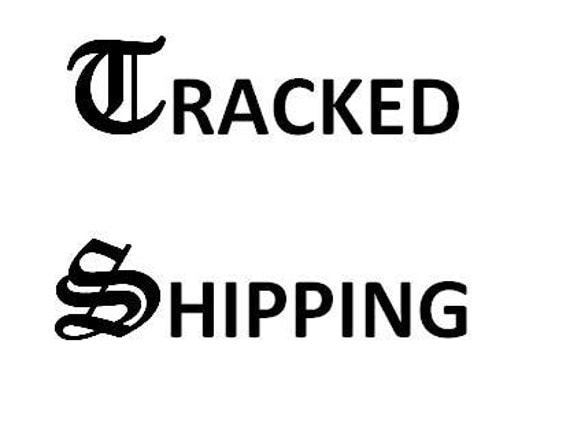 Tracked shipping