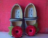 Shoes - KAYLA- soft soled handmade shoes available in size 1 thru 13 baby and children