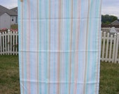 Vintage Striped Pillowcase....free shipping