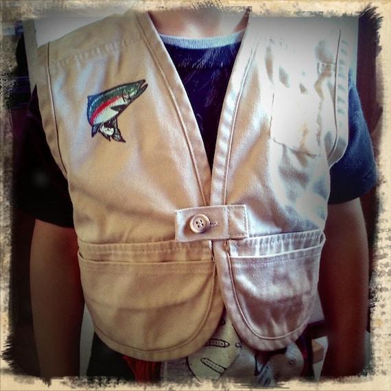 Angler 39 s kids fishing vest for Kids fishing vest
