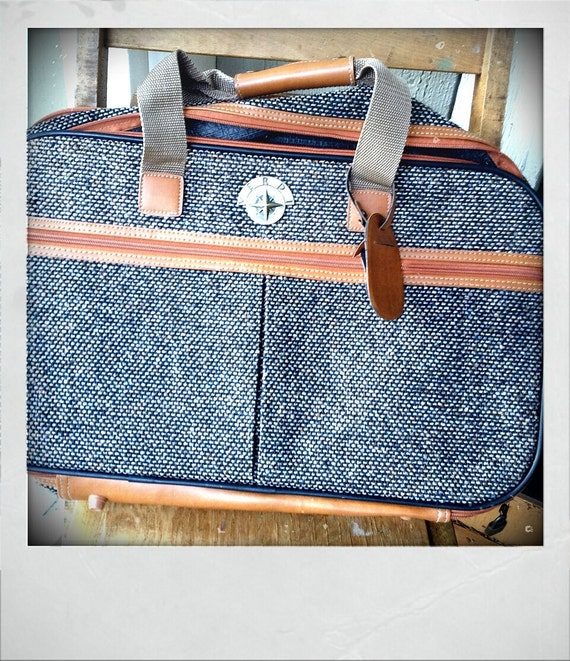 TWEED   ///   Suitcase Tan Vegan