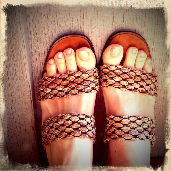 CORK   ///    Sacha London Chunky Sandals