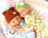 Reborn Baby Dolls Andrew & Autumn Twins Weighted girl and boy  OOAK