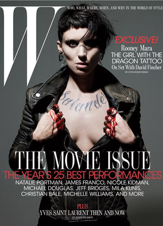 Worn By Rooney Mara, Silver Tipped Tribal Curls, Girl with the Dragon Tattoo, Fake Gauge Earrings, Organic Horn, Split, Cheaters - H21