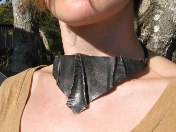 "RESERVED FOR TAMI Edgy Hardcore Choker ""Neck Armour"""