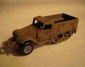 Military Armored Half Track Die Cast Vehicle By Zylmex Truck Tank Hong Kong Vintage Toy Car