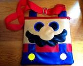 Bolsa plana Mario Bros / Mario Bros Flat bag