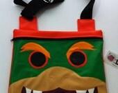 Bolsa plana Bowser (Mario Bros) / Bowser (Mario Bros) Flat bag