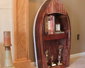 Boat Bookcase or Display Case (SM)
