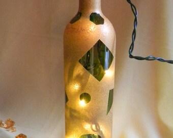 Gold Decorative Lamp Bottle
