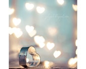 Love Spell - glamor romantic valentine home decor gift fine art photo heart woman cupid love Erotic amour heart passion  blue mint grey aqua