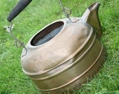 Vintage Copper Kettle with Patina