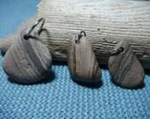 Striped Beach Stone Pendants