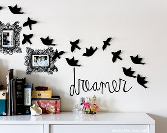 dreamer wall decal