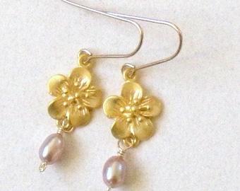 Cherry Blossom earrring