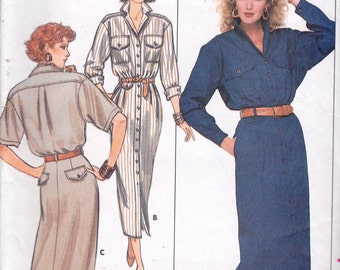 Butterick 5717 Misses' Dress Pattern, UNCUT, Size 10