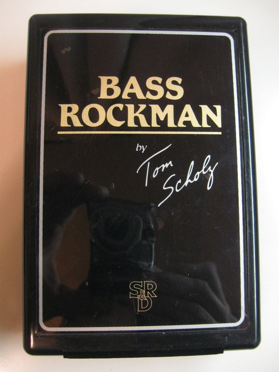 Vintage Bass Rockman By Tom Scholz Headphone Stereo Guitar Amp Clip On Amplifier