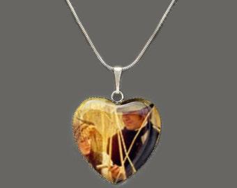 Sense & Sensibility 2 Glass Heart Pendant