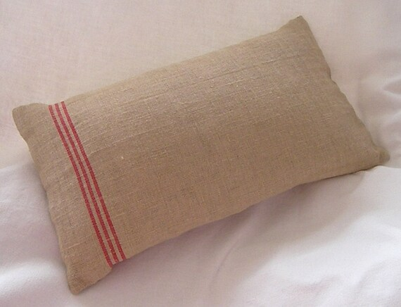 Handmade Burlap Hessian Cushion