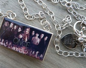 Once Upon A Time Cast Double Scrabble Tile Necklace