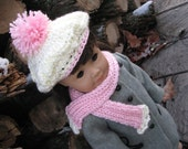 Hat and Scarf for American Girl Doll