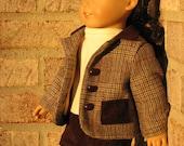 Plaid Jacket Ensemble for American Girl Doll