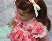 1950s Style Valentine Dress for American Girl Doll
