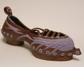 TRAMP - Clay Shoe Sculpture...
