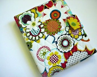 iPad/iPad air/iPad Pro 9.7/Kindle HD 8.9/10 inch cover/Samsung Tab A 9.7 cover in Bright Floral print