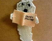 Bookworm Ghost Magnet a Ghostgap design